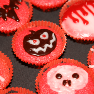 Halloween mini-cupcakes
