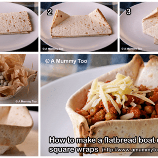 How to make a flatbread boat