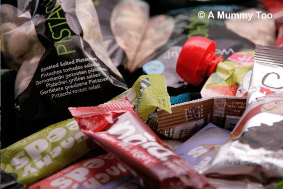 Healthy handbag snacks
