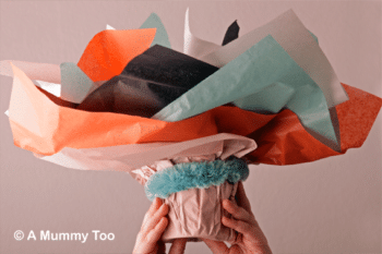 How to make a Mother's Day bouquet