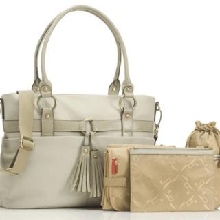 Win a designer leather Storksak Isabella changing bag worth £250