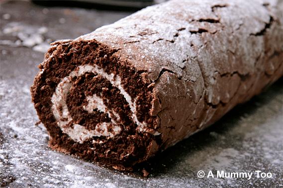 Chocolate Swiss Roll Cake Mary Berry