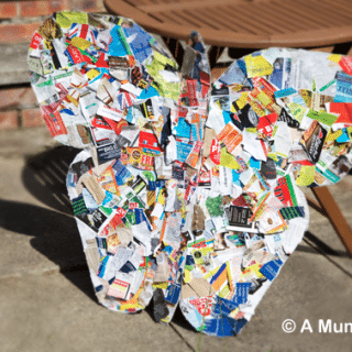 How to make a junk mail butterfly