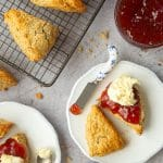 50/50 scones – perfect recipe for afternoon tea