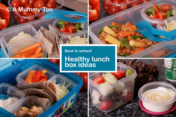 Healthy lunch box ideas
