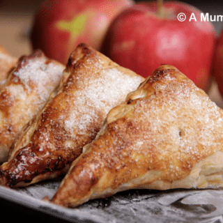 Apple cinnamon turnovers (recipe)
