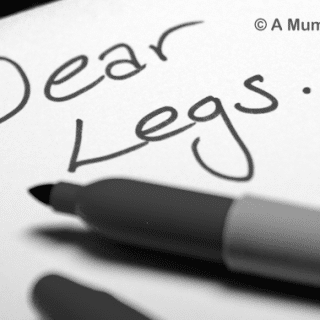 A letter to my legs