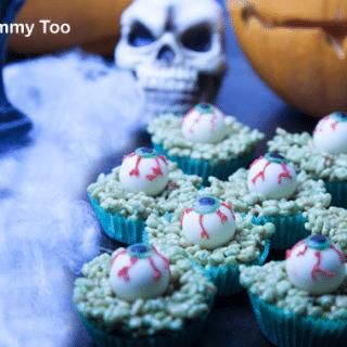 Spookily good monster crispy cakes (recipe)