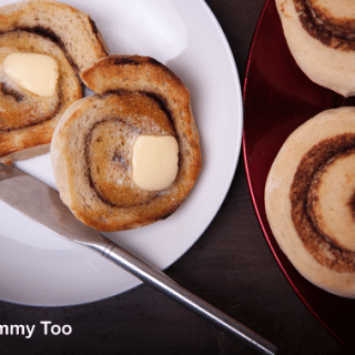 Toasted chocolate cinnabuns (recipe)