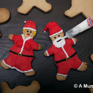 How to make Father Christmas spiced shortbread biscuits