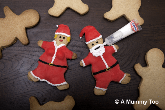 Father Xmas spiced butter biscuits