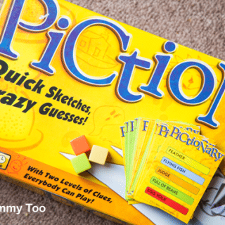Pictionary – reading, communicating, getting arty (game review)