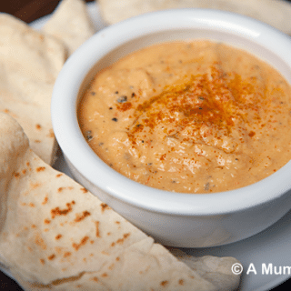 Manuka honey roast vegetable houmous (recipe)