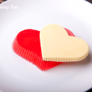 How to make pretty Valentine's heart jelly (jello) desserts