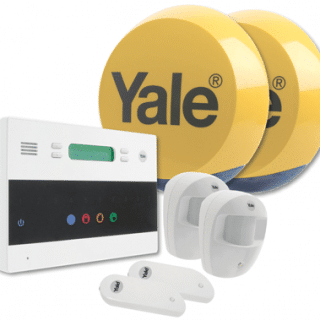 Win a Yale Easy Fit Premium Home Alarm System worth £329.99
