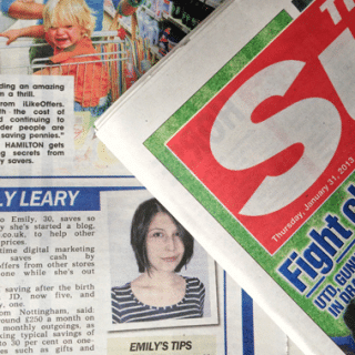 Family money saving tips, as featured in The Sun