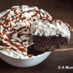 Nutella 5-minute chocolate pudding cake - amazingly easy recipe. You make it right in the bowl. MUST BE TRIED!