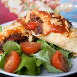 Vegetarian mince and red pepper enchiladas (recipe and review)