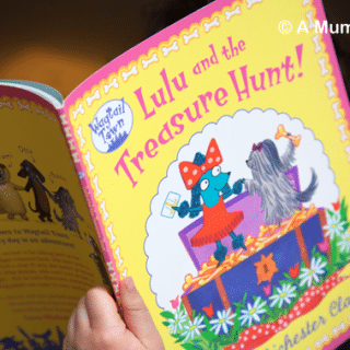 Lulu and the Treasure Hunt (children's picture book review)