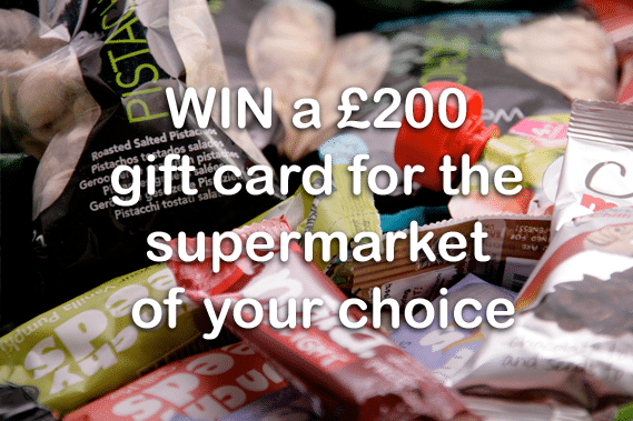 Win £200 gift card for the supermarket of your choice