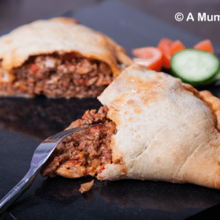 Meaty bolognese calzone