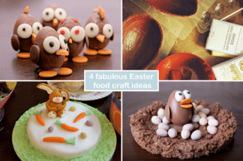 4 fabulous Easter food craft ideas