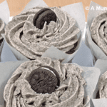 Oreo frosted chocolate cupcakes recipe + #recipeoftheweek linky 9-15 March