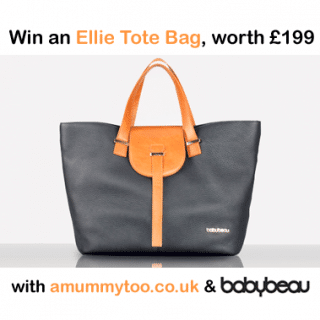 Win a BabyBeau Ellie Stylish Shopper Tote Bag, worth £199