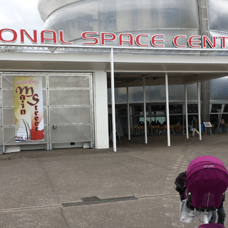 Roadtesting the Samsung Galaxy S4 at The National Space Centre
