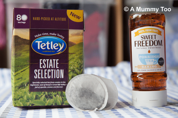 tetley tea and sweet freedom