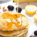 Vegan, fluffy pancakes – no eggs, no dairy