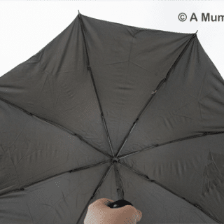 A cute festival solution: Katwalk Kimberleys Wine Bottle Umbrella