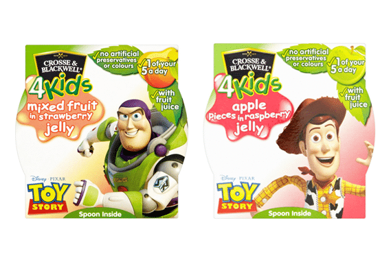 Crosse & Blackwell 4Kids Fruit Pots