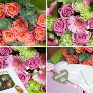 Anniversary and Baby Gift Flower Packages from Debenhams (review)