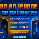 Play Snake Retro with Carphone Warehouse for a chance to win a smartphone (sponsored post)