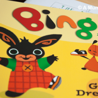 Bing Get Dressed (children's picture book review)