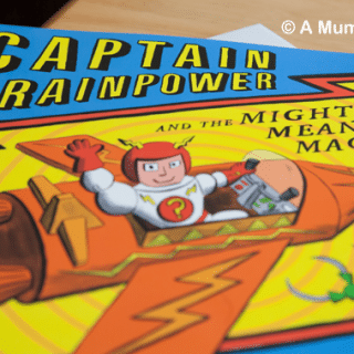 Captain Brainpower and the Mighty Mean Machine (children's picture book review)