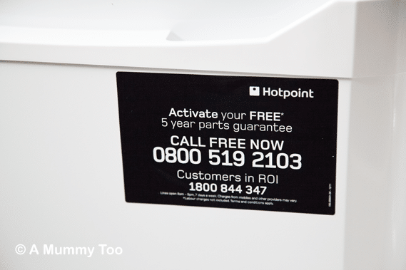 Hotpoint-Fridge-5-year-parts-guarantee