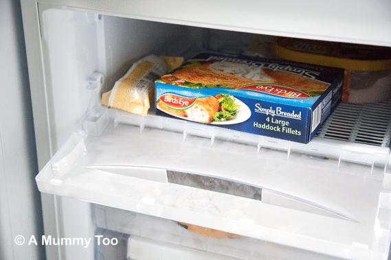Hotpoint-Fridge-freezer-compartment