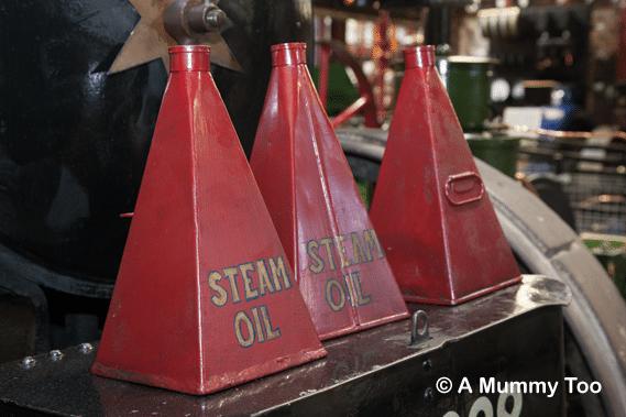 Steam oil