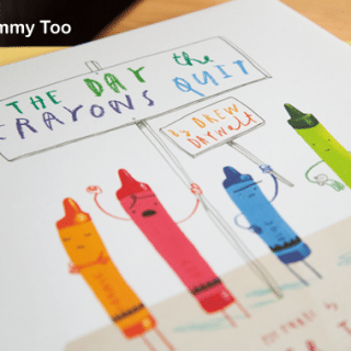 The Day the Crayons Quit (children's picture book review)