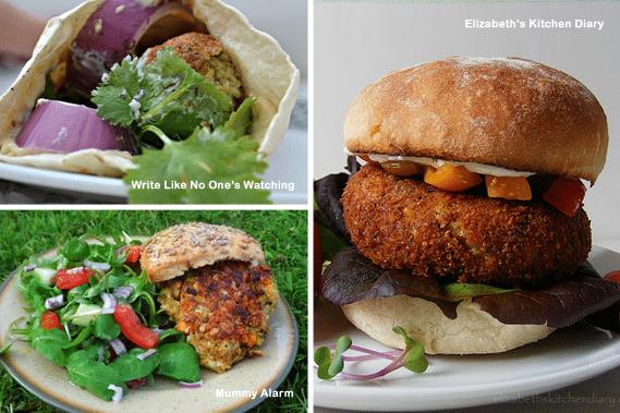 Three fabulous veggie summer sandwiches
