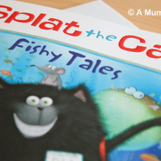 Splat the Cat: Fishy Tales (children's picture book review)