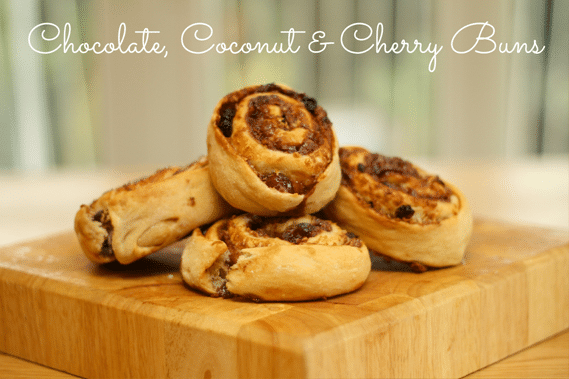 Chocolate,-Coconut-&-Cherry-Buns