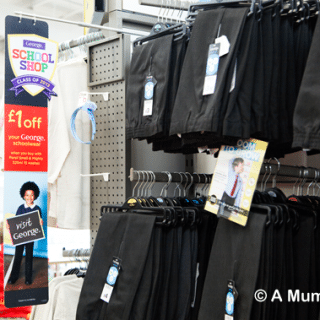 Last minute uniform shopping? Try ASDA (review)