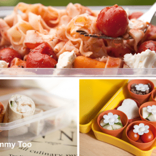 Love your lunchbox! Three simple lunchbox ideas