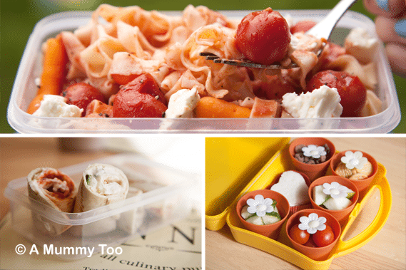 Three simple lunchbox ideas to refresh your packed lunches - including leftovers, a bento box and wraps