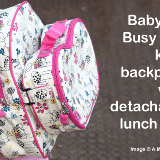 A Mummy Too loves…the Babymel Buzzy Bee kid's backpack with detachable lunch bag (review)