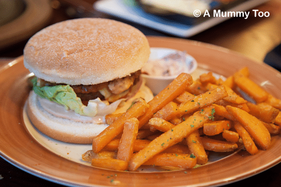 Chiquitos-bean-burger