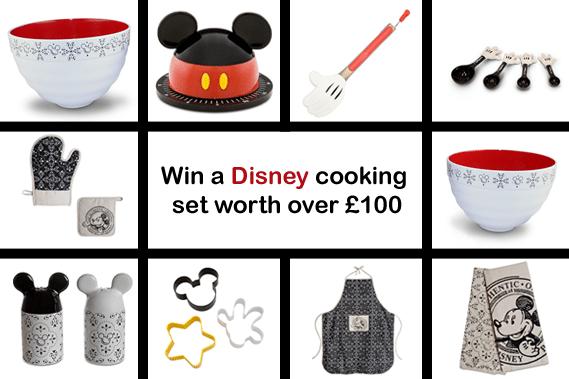 Win a Disney cooking set
